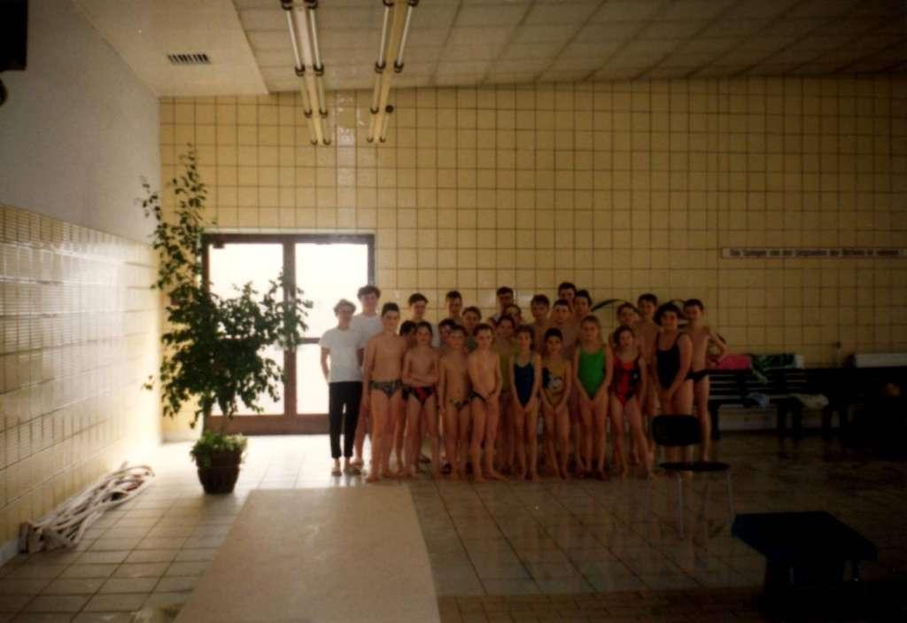 Vereinswettkampf mit dem Schwimmverein Hirschfelde 1993 in Hirschfelde