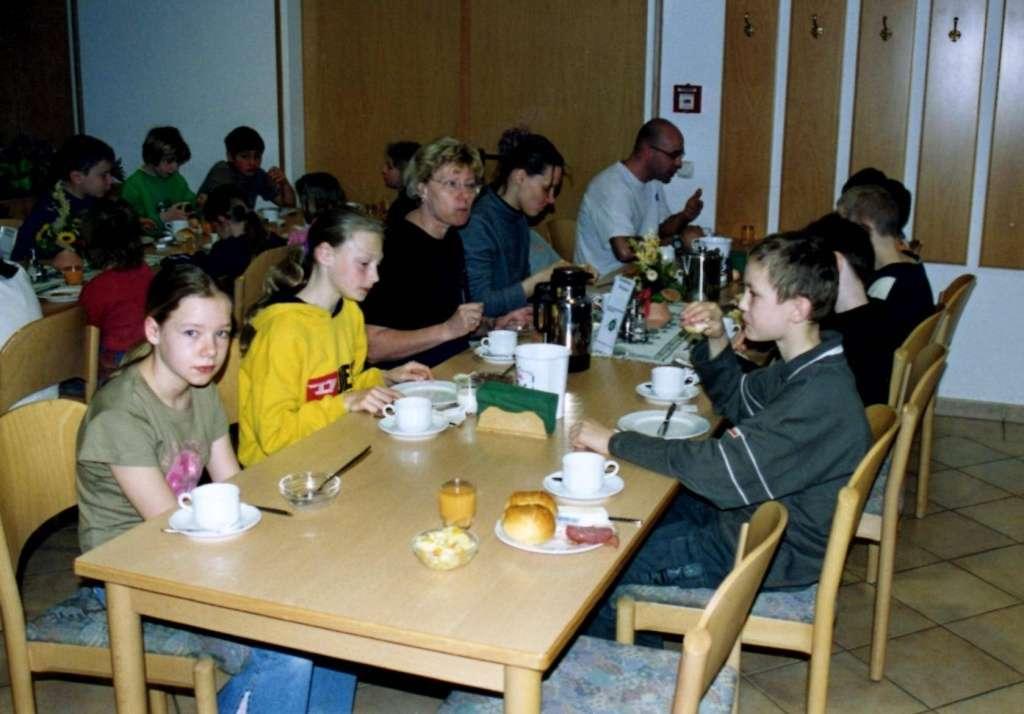 Trainingslager Rabenberg 2003