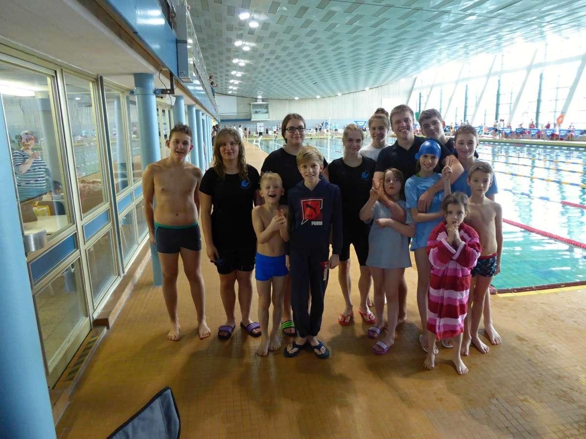 Unser Team zum Winterschwimmen 2016.