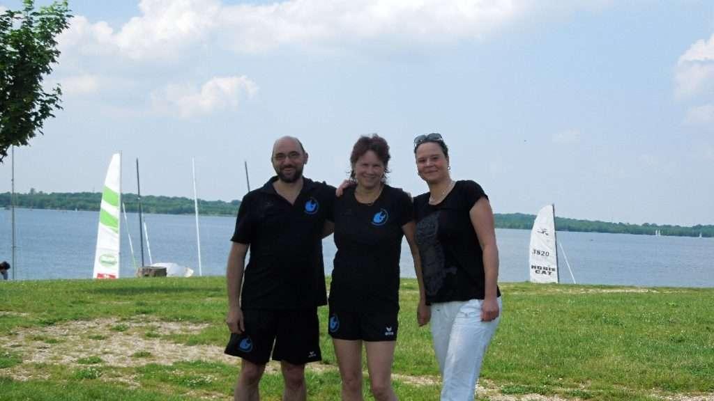 Mannschaft Langstreckenschwimmen Cospudener See