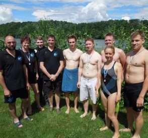 Mannschaft zum Meilenschwimmen 2016