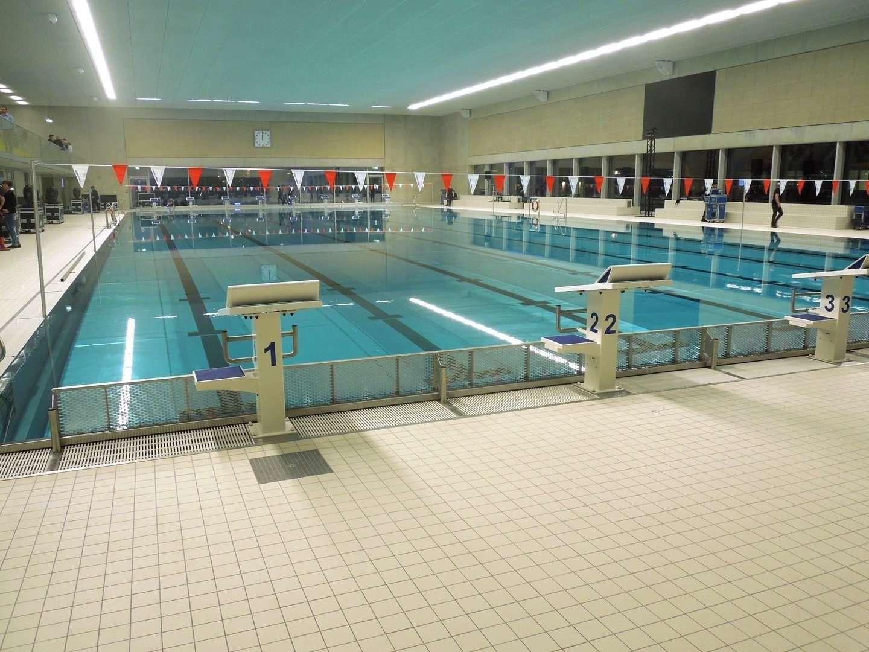 Neue Schwimmhalle am Freiberger Platz - Trainingsbecken