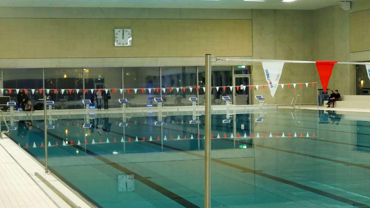 Neue Schwimmhalle am Freiberger Platz - 50 m Becken